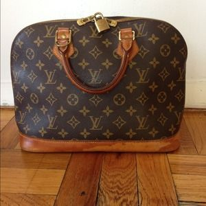 Louis Vuitton Vintage 'Alma' Monogram Satchel