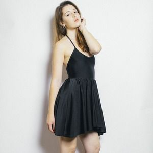 American Apparel Dresses & Skirts - Black Skater Dress