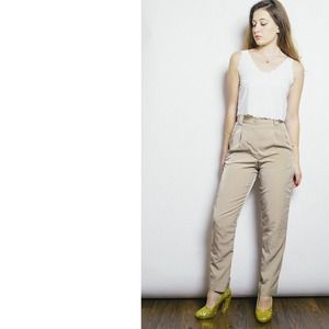 American Apparel Pants - Khaki Trousers