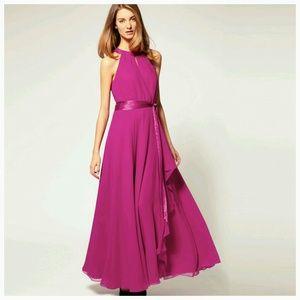 Dresses & Skirts - CLOSET CLEAR OUT SALE! Pink Chiffon Dress