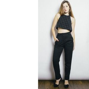American Apparel Pants - Black Trousers