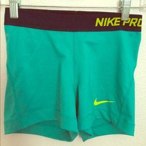 "Nike Pants - ❌SOLD❌Nike Pro Combat shorts 3"" inseam"