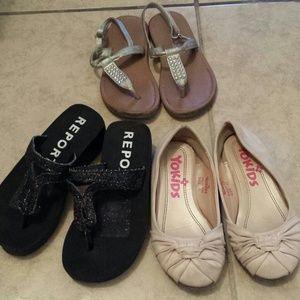 Shoes - Bundle of girls sandals