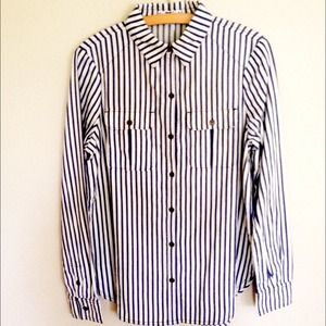 Paige Denim Striped Shirt