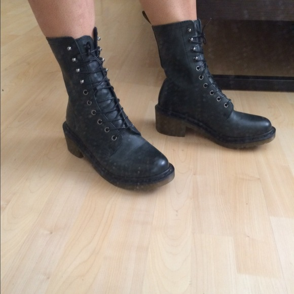Combat Boots No Heel | FP Boots