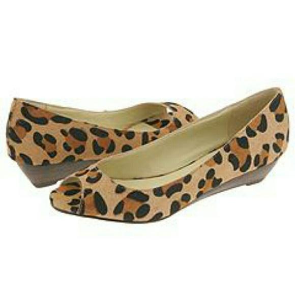Leopard Print Dress Shoes Men