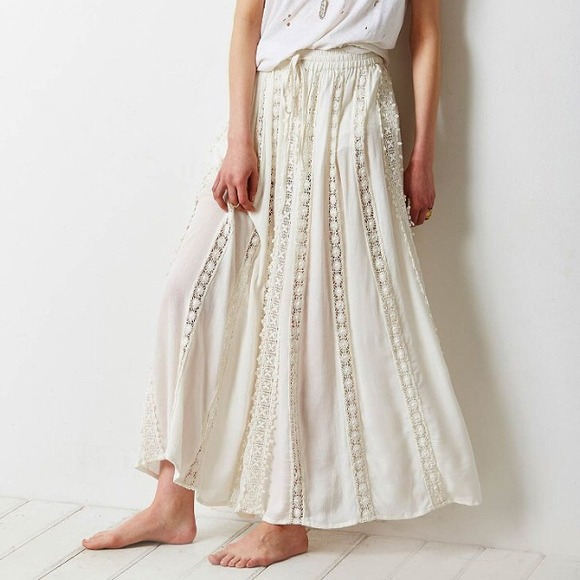 66% off Urban Outfitters Dresses & Skirts - White maxi skirt! from ...