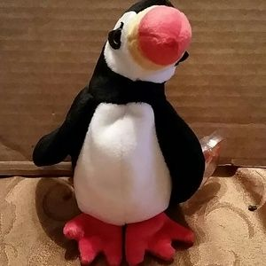 Ty Accessories - TY BEANIE BABY PUFFIN BIRD PUFFER 1997 0d60142a36bf