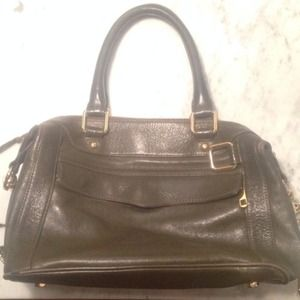Rebecca Minkoff olive green leather bag