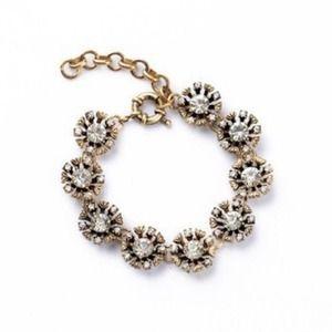 Jewelry - New Floral Flower bracelet vintage JCrew style
