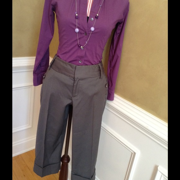 Find and save ideas about Capri pants on Pinterest. | See more ideas about Fall office outfits, Fall professional outfits and Work fashion. Women's fashion. Capri pants; Capri pants love neutral slightly dressy capris The colors are perfect but looks so comfy yet classy.
