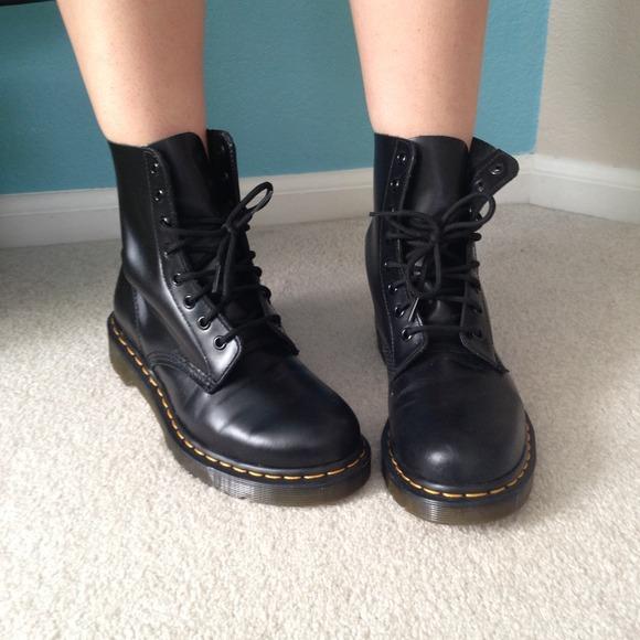 Dr Martens Kids Boots Black