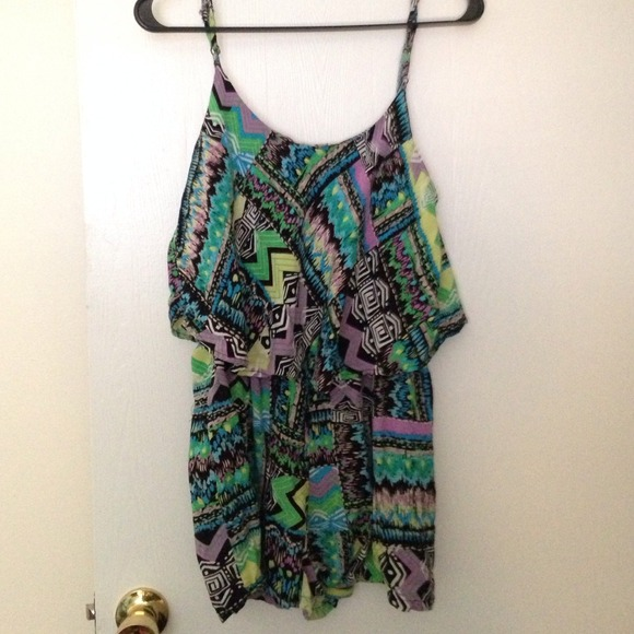 Forever 21 Dresses & Skirts - Tribal romper