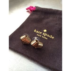 Kate Spade Curling Ribbon Earrings