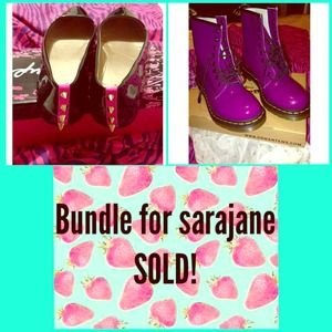 Shoes - Bundle of flats and booties for sarajane