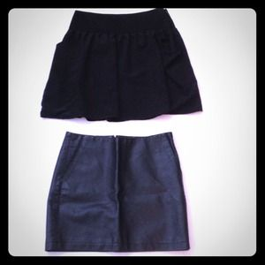 Urban Outfitters Black Skirt Bundle