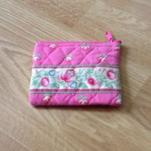 Clutches & Wallets - Pink flower wallet