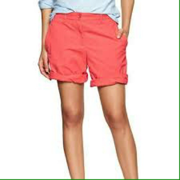 60% off GAP Pants - GAP boyfriend roll-up khaki shorts from E's ...