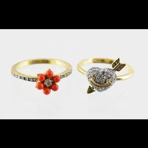 2 Juicy Couture Rings