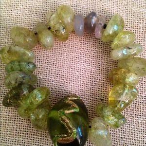 """Jewelry - Drizzy stretch bracelet 7"""""""