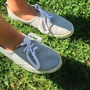H&M Grey Canvas Shoes