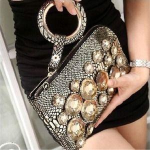 100% Italian Leather Handbag