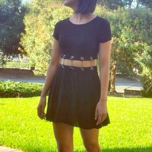 Forever 21 Dresses & Skirts - Cutout Dress with Toggles