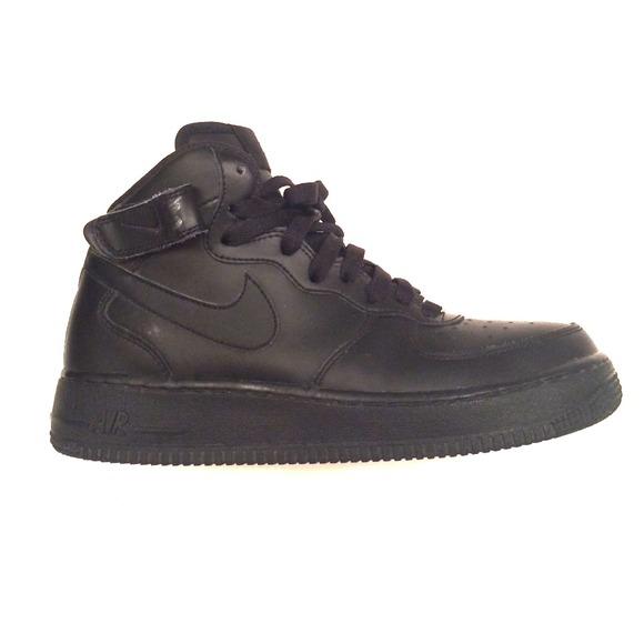 black nike air force 1 size 6