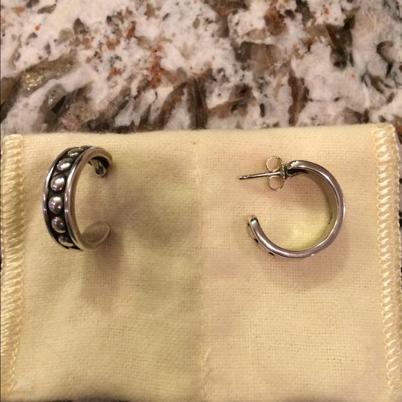 James Avery Jewelry Sterling Silver Hoop Earrings Poshmark