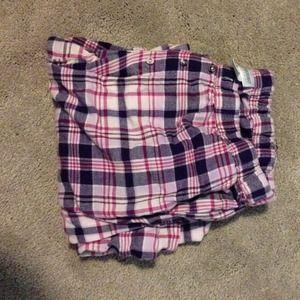 Motherhood Maternity flannel pants