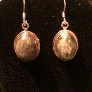 Jewelry - Seraphinite earrings