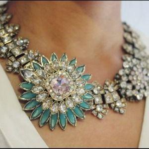 Zara rhinestone necklace