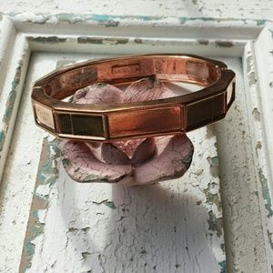 Jewelmint Jewelry - ☆HP☆ NWOT Rouge Golden Hinged Bangle