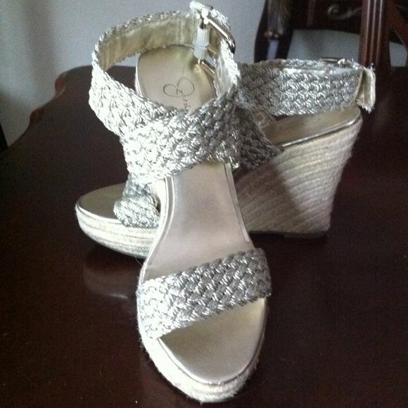 c8fb510a287 Jessica Simpson espadrille wedge sandals