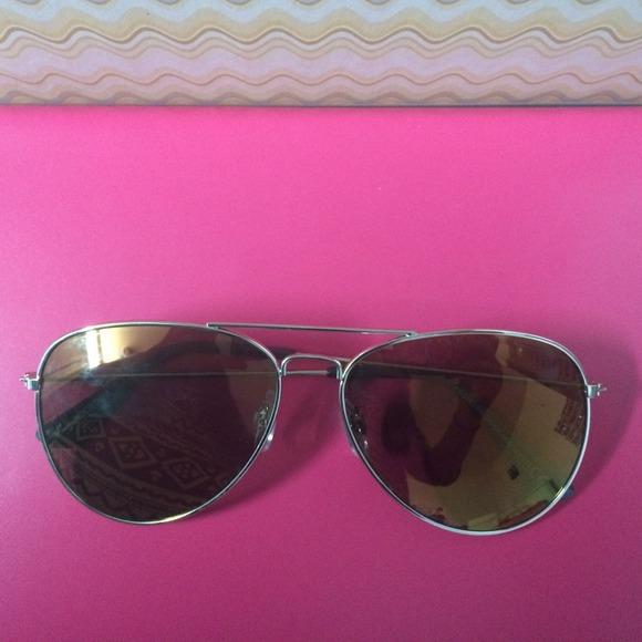 10ac7a549463 H&M Accessories | New Brown Hm Aviator Sunglasses | Poshmark
