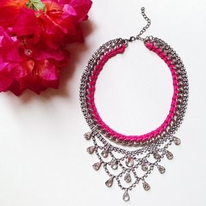 Pink Rock Necklace