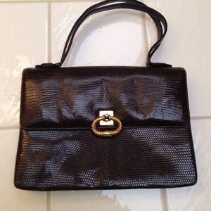 Vintage coco-brown purse