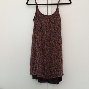 Brandy Melville Floral Mini Dress