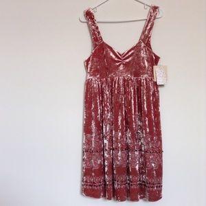 Free People Dresses & Skirts - Free People velvet dress