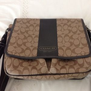 Coach Handbags - Coach Leather Messenger Bag, Price Firm