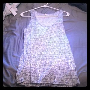 J. Crew Sequined/Patterned Tank *WORN ONCE*