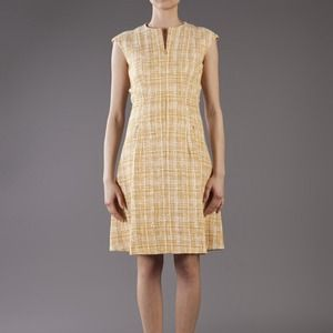 Akris Dresses & Skirts - Akris punto cap sleeve tweed dress