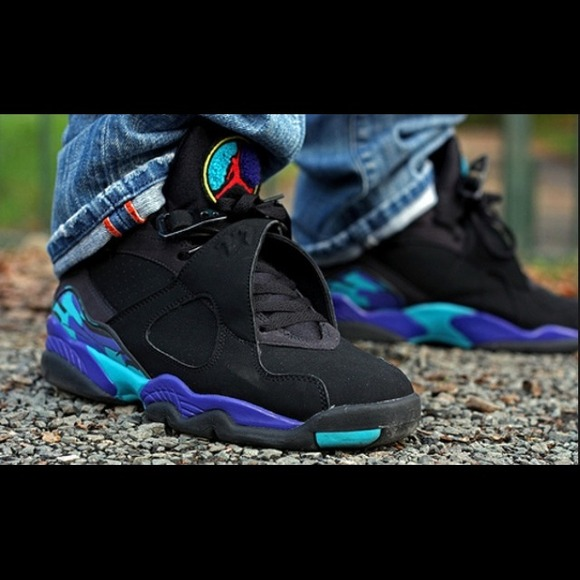 bdf29c421beb11 🎉️FLASH SALE🎉 Air Jordan 8 Retro in Aqua. M 53bee3e6e6ce286f69454bd1
