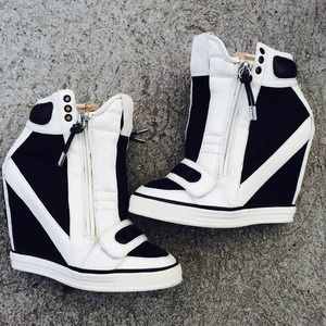 L.A.M.B. Shoes - LAMB L.A.M.B NALA WEDGE SNEAKER SZ 7