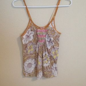 FREE PEOPLE COLORFUL TANK!