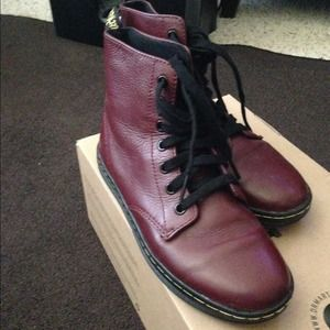 leather doc martens