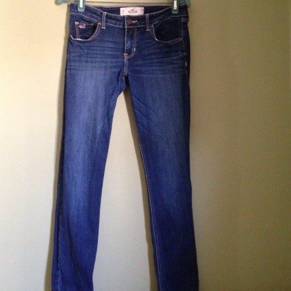50% off Hollister Pants - Hollister jeans size 7 regular from ...