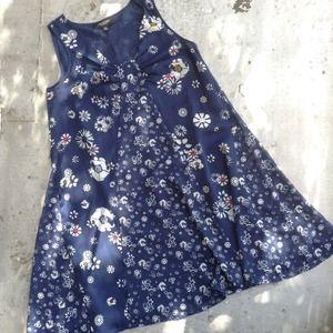 Jason Wu for Target Dresses - Jason Wu for Target Blue Floral Print Dress