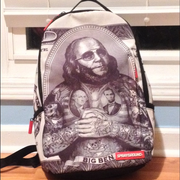 8f25e89b87 Big Ben sprayground bookbag. M 53be056b2d24902cb747764e