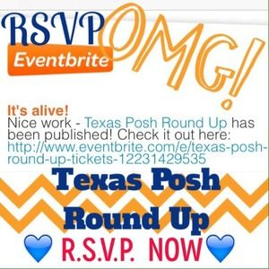 Dresses & Skirts - 🎉 RSVP For Texas Posh Round Up!!!!